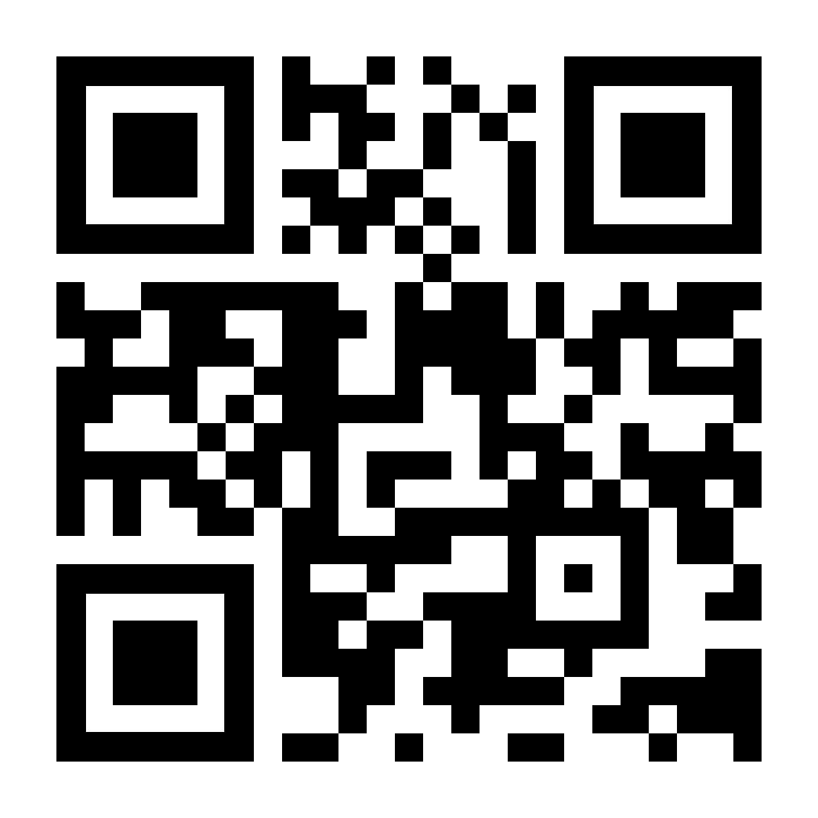 Een QR-code die linkt naar kaspersky.nl
